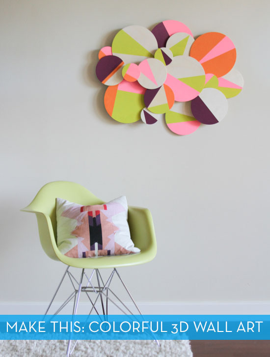 Colorful-wall-art-diy