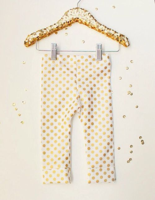 Golddotleggings